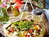 Vegetarische Gemüse-Tarte Rezept