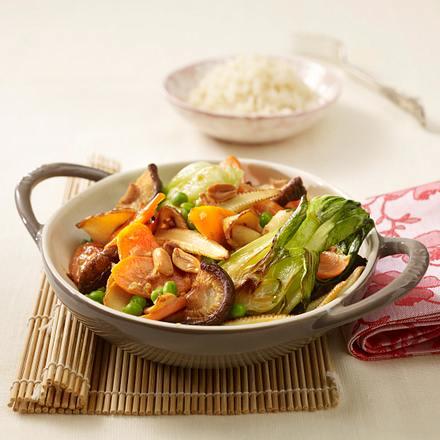 Vegetarisches Buddha-Gemüse Rezept