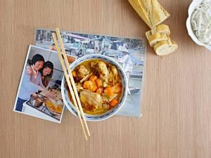 Vietnamesisches Hähnchencurry – Cà ri gà Rezept
