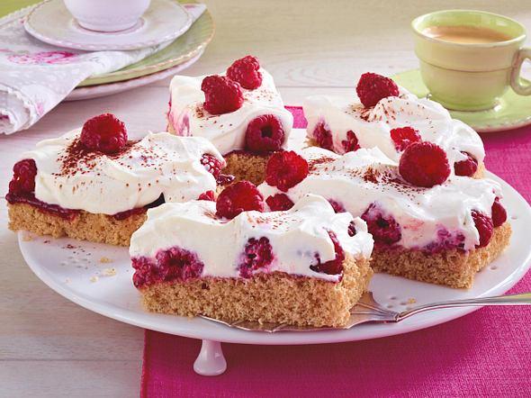 Vollkorn-Himbeer-Torte Rezept