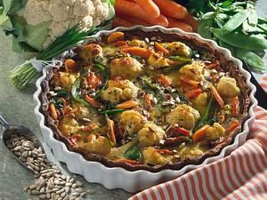 Vollwert-Gemüse-Pie Rezept