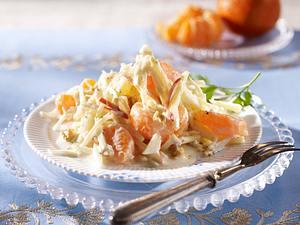 Waldorfsalat mit Clementinen und Joghurt-Dressing Rezept