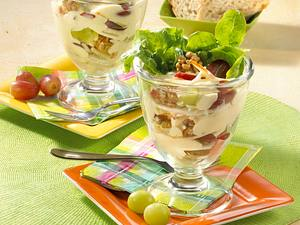Waldorfsalat mit Trauben Rezept