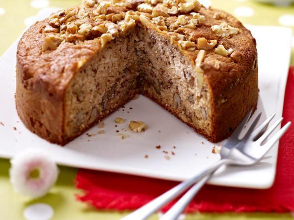Walnuss-Esskastanien-Kuchen Rezept