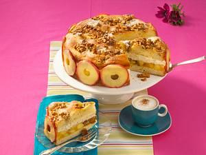 Walnuss-Honigbutterkuchen Rezept