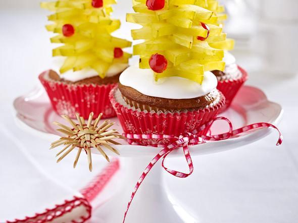 Walnuss-Muffins mit Sternfruchttannenbaum Rezept