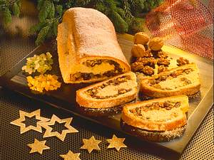Walnuss-Rosinen-Stollen Rezept