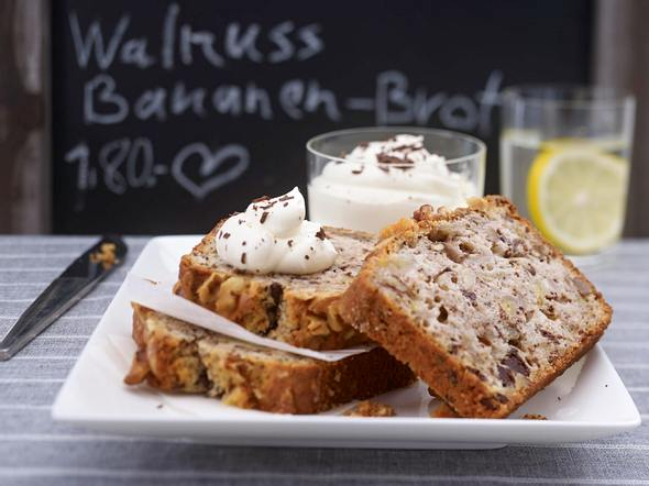 Walnut-Banana-Bread Rezept