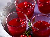 Warmer winterlicher Beeren-Cocktail Rezept