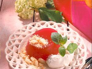 Wasser-Melonen-Kirschlikör-Gelee Rezept