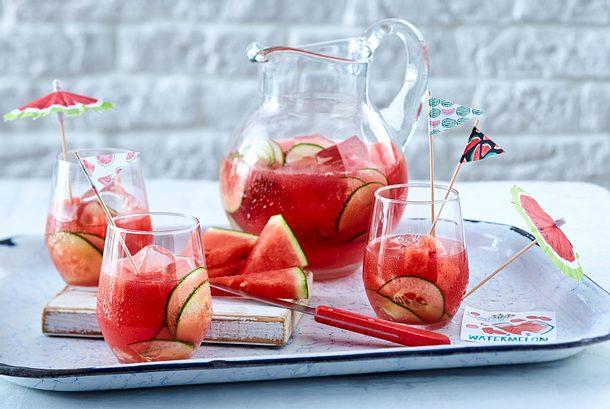 Wassermelonen-Bowle Rezept
