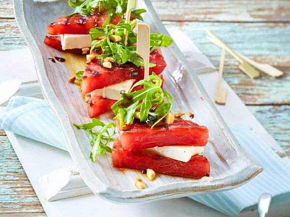 Wassermelonen-Feta-Sandwich Rezept