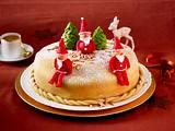 Weihnachtliche Marzipantorte Rezept