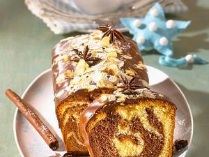 Weihnachts-Marmorkuchen (Diabetiker) Rezept