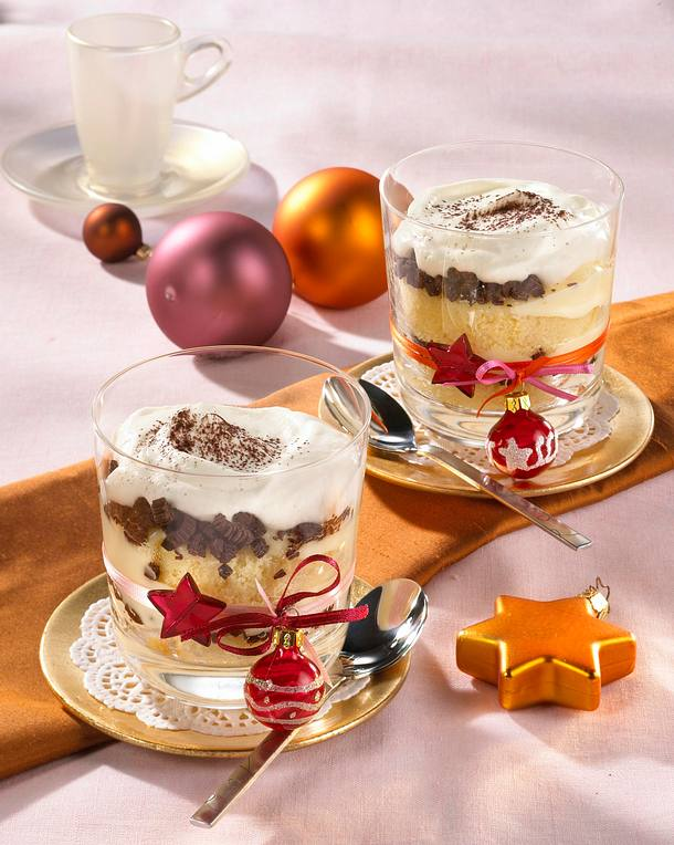 Weihnachts-Trifle Rezept