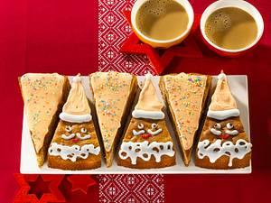 Weihnachtsmann-Früchtekuchen Rezept