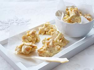 Cornflakes-Kekse mit weißer Schokolade Rezept