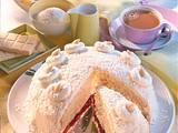 Weiße Kokos-Schoko-Torte Rezept