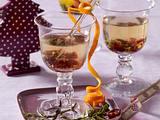 Weißer Glühwein mit Cranberries Rezept