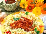 Weißkohl-Möhren-Salat mit Spareribs Rezept