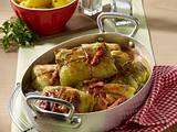 Weißkohl-Päckchen mit Petersilien-Kartoffeln Rezept