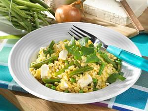 Weizen-Gemüse-Risotto Rezept