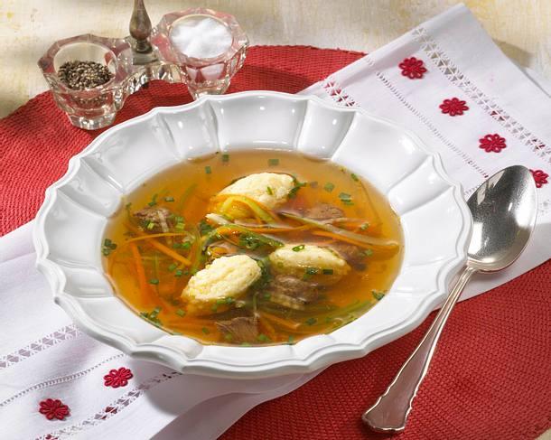 Wiener Grießnockerl-Suppe Rezept