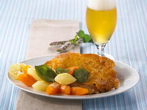 Wiener Schnitzel mit Gemüse Rezept