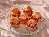 Windbeutel mit Erdbeersahne Rezept