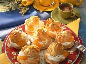 Windbeutel mit Mandarinen Rezept