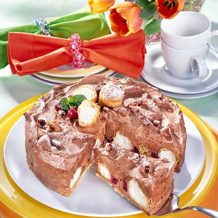 Windbeutel torte rezept lecker for Minikuche mit spulmaschine