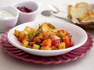 Winter-Ratatouille mit Kartoffeln Rezept