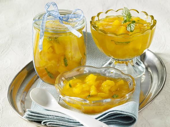 Winterkonfitüre mit Ananas und Mango Rezept