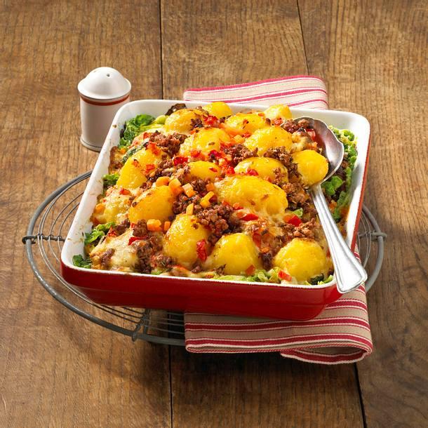 Wirsing-Kartoffel-Auflauf Rezept