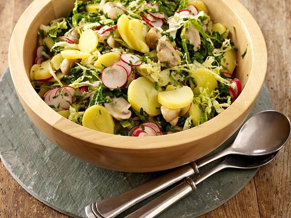 Wirsing-Kartoffelsalat Rezept