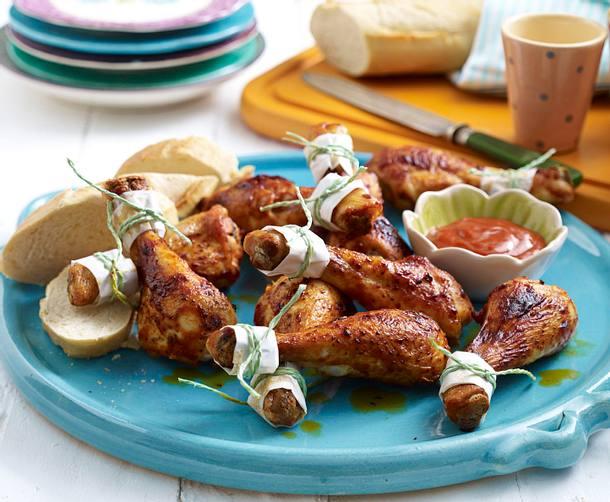 Würzige Hähnchenkeulen Rezept