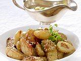 Würzige Sesamkartoffeln Rezept