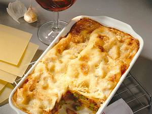 Würzige Tomaten-Lasagne Rezept