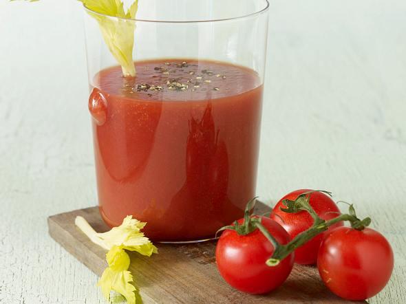Würziger Tomatensaft Rezept