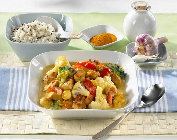 Würziges Blumenkohl-Curry Rezept