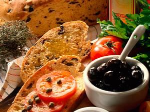 Würziges Olivenbrot Rezept