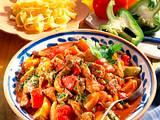 Würziges Paprika-Gulasch Rezept