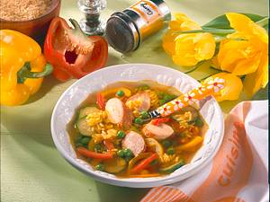 Wurst-Gemüsetopf Rezept