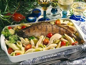 Zander auf Porree-Fenchel-Kirschtomaten-Gemüse Rezept
