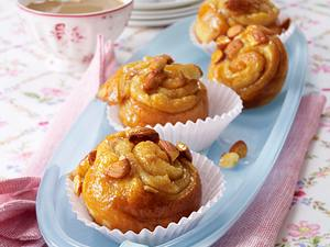 Zimt-Hefeschnecken-Muffins Rezept