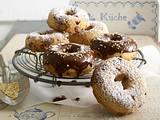 Zimt-Nougat-Donuts Rezept