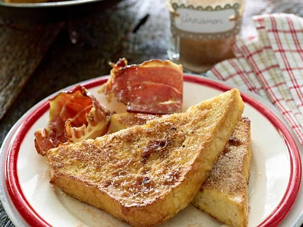 Zimttoast mit Bacon Rezept