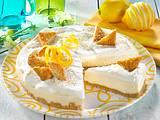 Zitronen-Joghurt-Torte mit Kokos Rezept