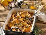 Zitronen-Knoblauch-Huhn Rezept