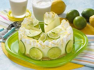 Zitronen-Limettentorte Rezept